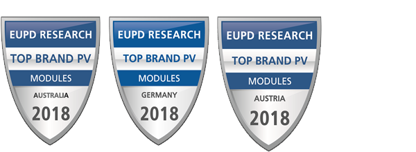 EuPD Research das Siegel -Top Brand PV 2018
